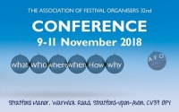Association of Festival Organisers Conference 2018